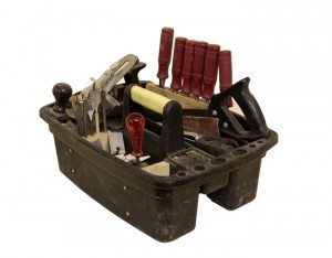 Bild som visar en verktygslåda