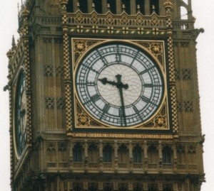 Image showing the Big Ben clock.